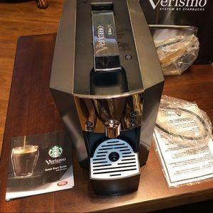 Starbucks Verismo coffee/ latte machine
